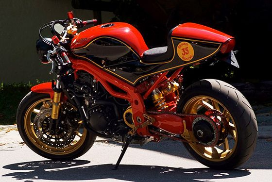 Burt Munro Tribute Bike – Triumph Speed Triple Custom
