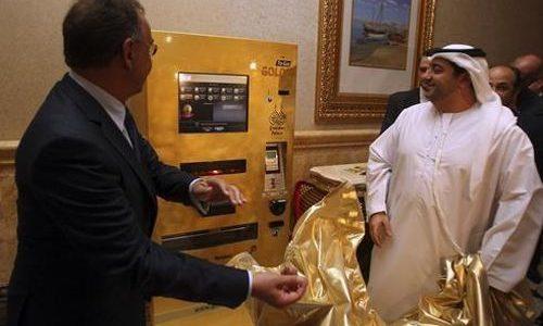 Gold Dispensing ATM Machine Abu Dhabi