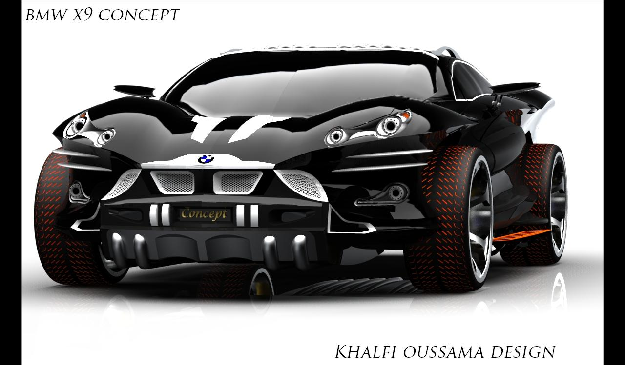 A Pissed Off Bmw X9 Concept