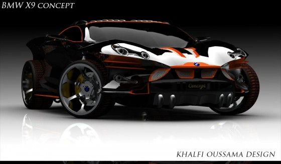 A Pissed Off Bmw X9 Concept Unfinished Man