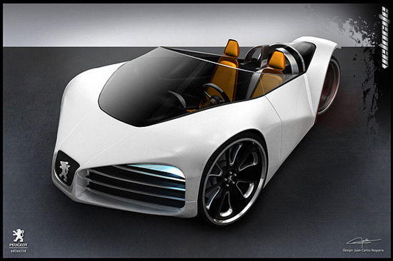 Hybrid Concept Car – Peugeot Velocite