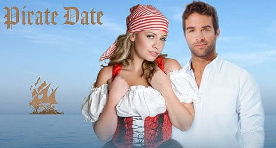 How To Date A Pirate, The Pirate Bay Way