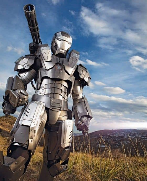 War Machine – Amazing Fan Made Costume