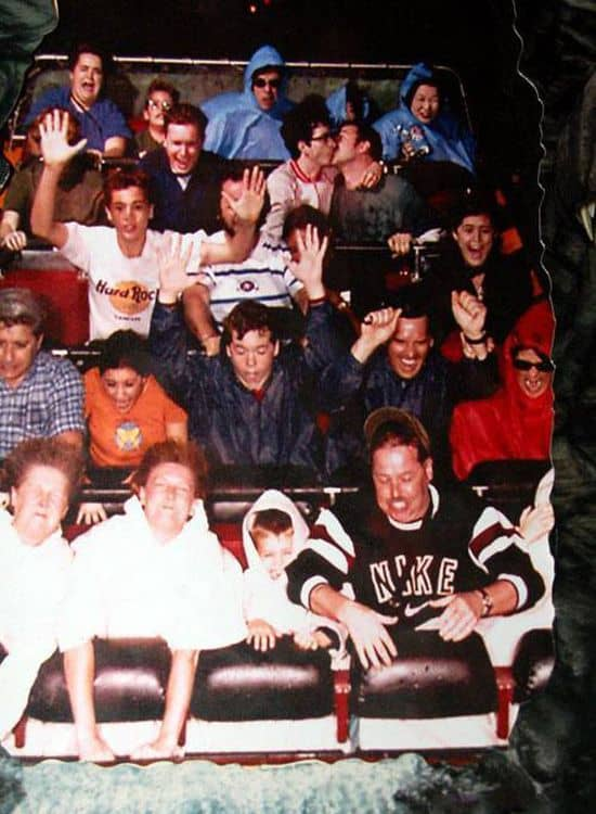 Funny Roller Coaster Picture