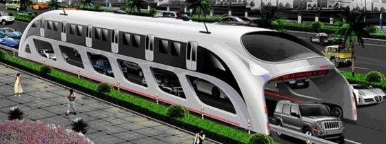Chinese Straddling Bus