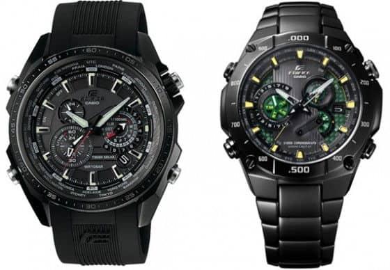 Casio's New Elegant Watches – The EDIFICE Black Label Collection