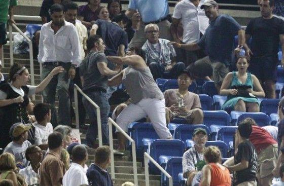 US Open Tennis Fan Fight