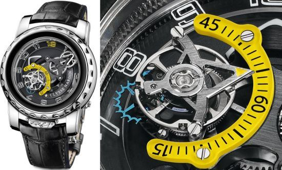 Freak Diavolo Rolf 75 Limited Edition Watch by Ulysse Nardin