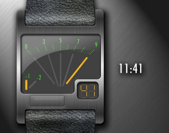 An Unusual Watch – VOLTure Voltmeter Watch