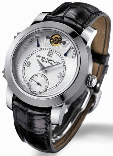 Girard-Perregaux Opera Three Watch – Plays Music by Tchaikovsky and Mozart