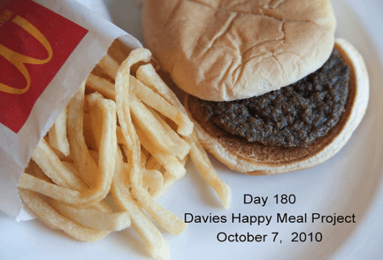 Happy Meal resisiting decomposition