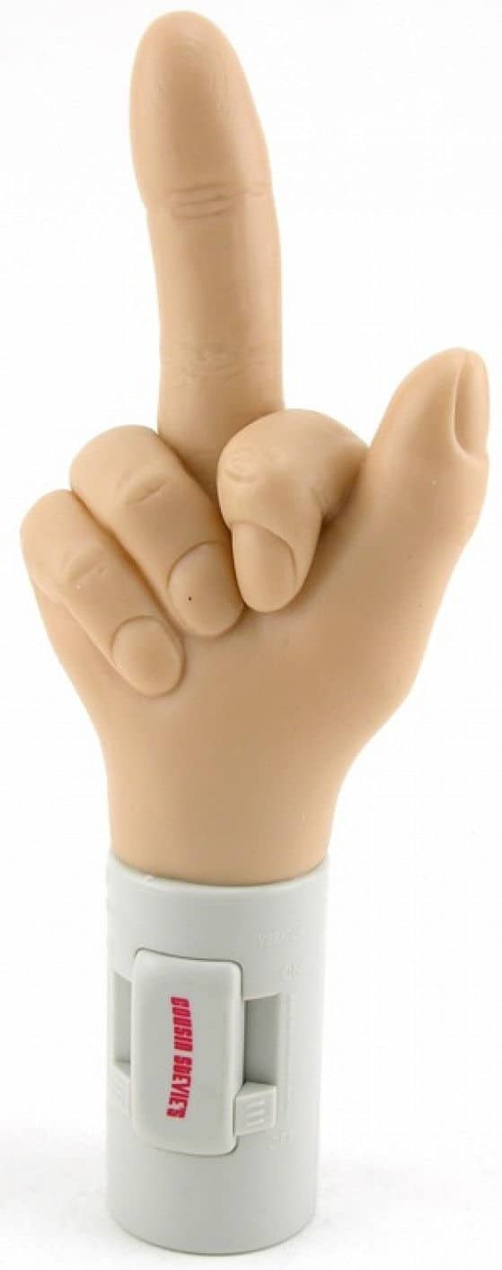 Middle Finger sex toy