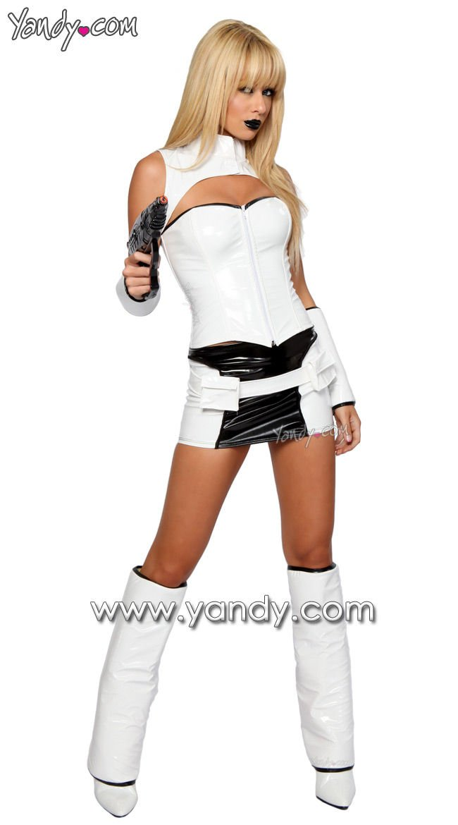 Sexy Storm Trooper costume: