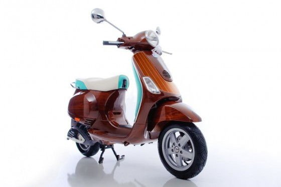 Speedboat Inspired Limited Edition Vespa Scooters