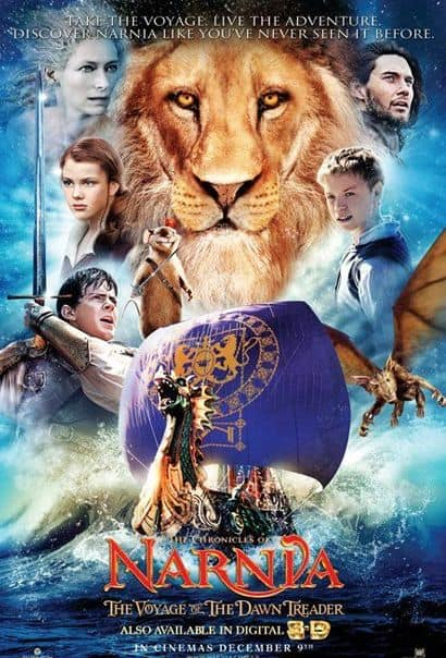 Movie Review: The Chronicles Of Narnia: The Voyage Of The Dawn Treader