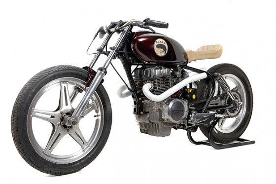 Much Much Go Custom Motorcycle – Based on a 1979 Honda CB250T