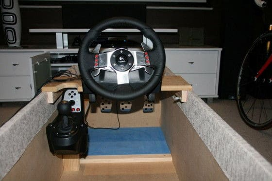 Home-Made-Racing-Simulator