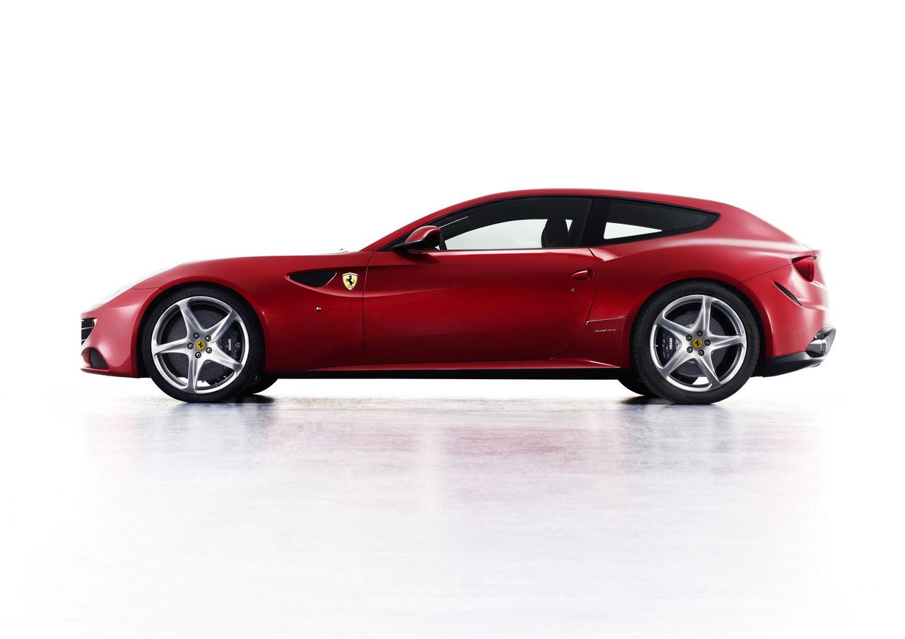 A Four Wheel Drive Ferrari Hatchback The Ferrari Four Ff