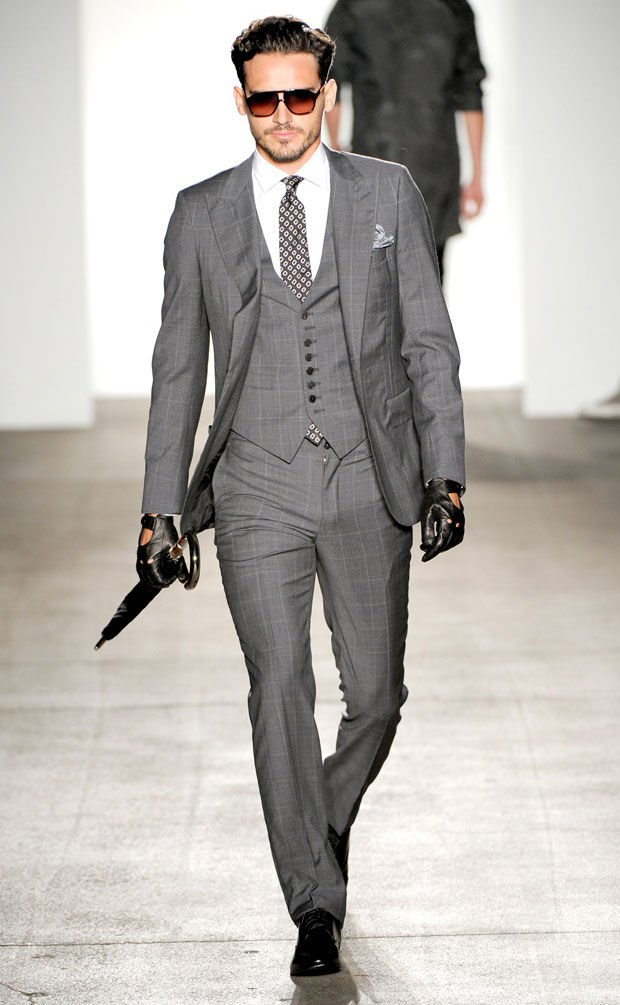 Karl Marx Presents The Latest Bourgeois Fashions | Suits, Grey ...