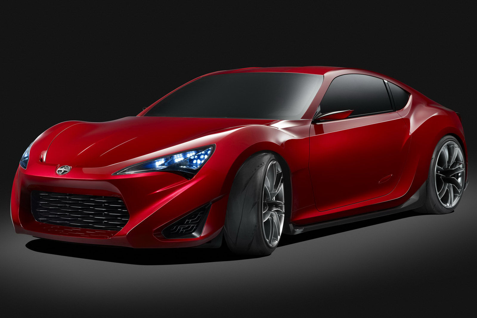 sexy new scion fr s concept sports car. Black Bedroom Furniture Sets. Home Design Ideas