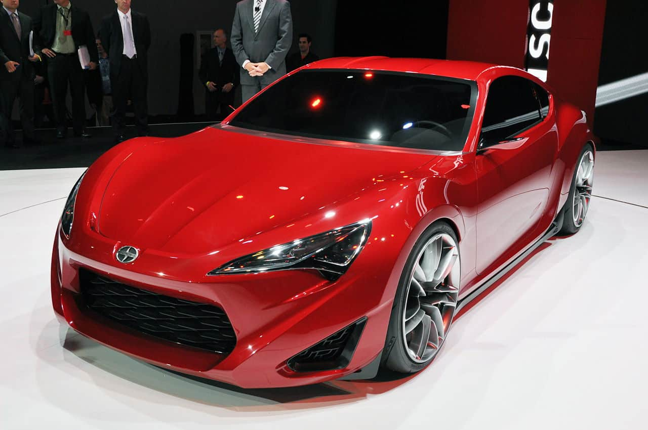 sexy new scion fr s concept sports car unfinished man. Black Bedroom Furniture Sets. Home Design Ideas