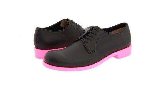 Jil-Sander-Mens-Pink-Sole-Shoes