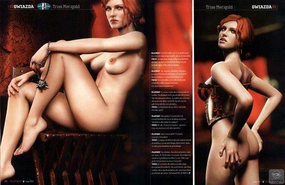 Triss Merigold Bum Shot Polish Playboy