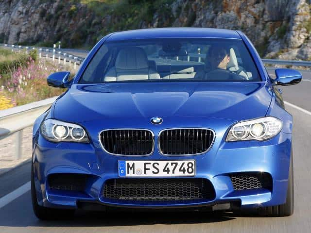 Official 2012 Bmw M5 F10 Unfinished Man