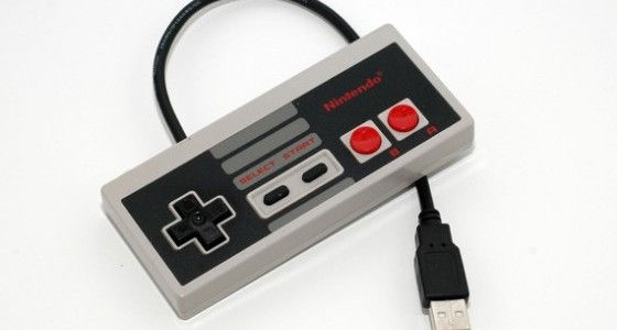 Cool Retro NES Controller to store data