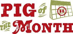Pig Of The Month Meat Logo