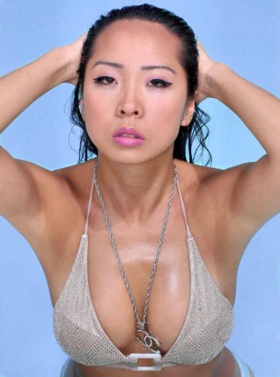 Sexy Lisa Song Sutton model