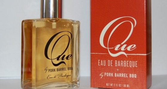 Barbeque scented cologne