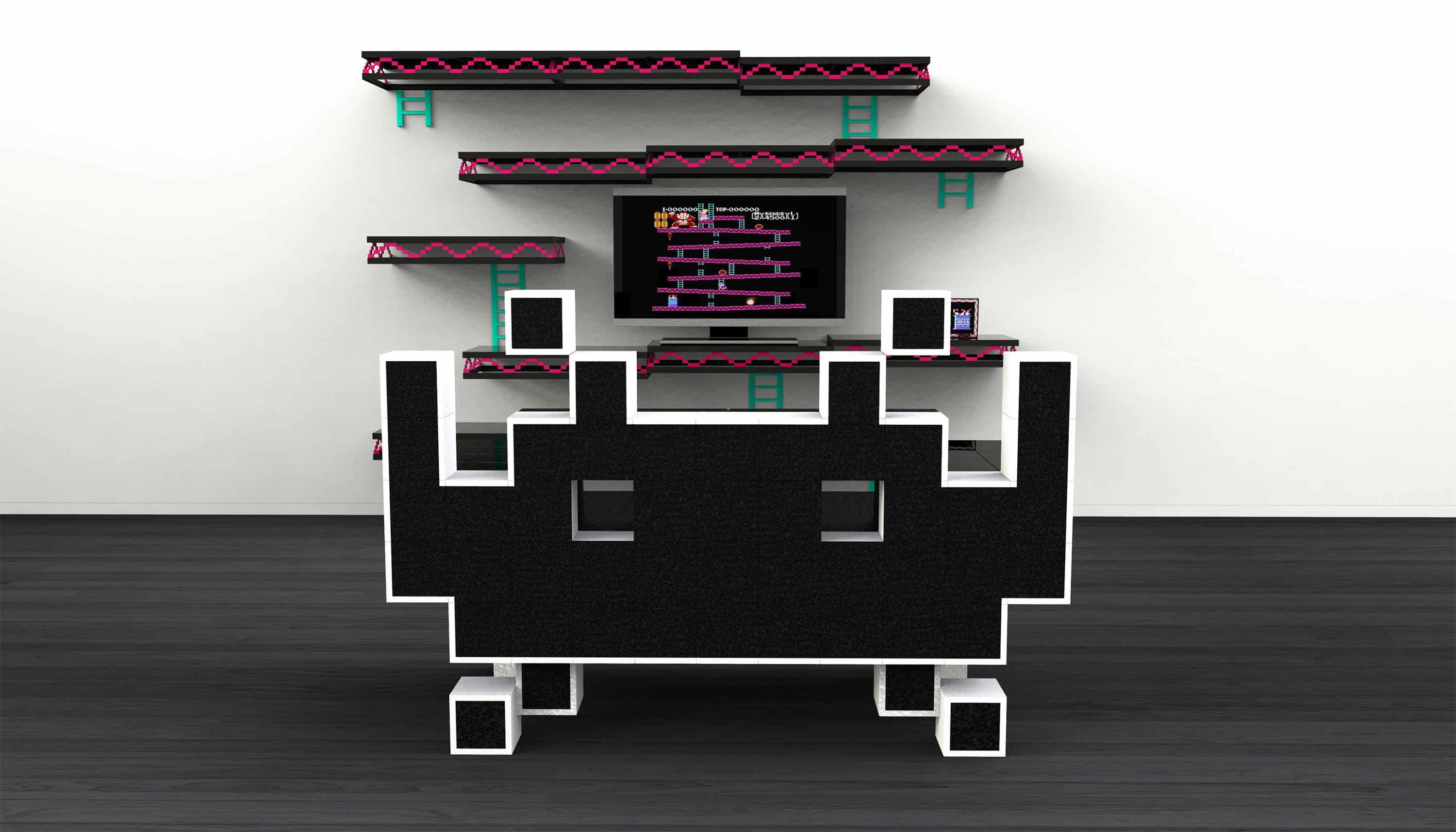 Awesome Video Game Furniture by Igor Chak Unfinished Man