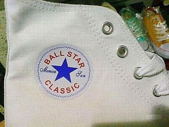 Ball Star Classic copy cat of Converse