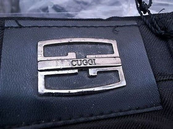 Cuggi knock-off of Gucci