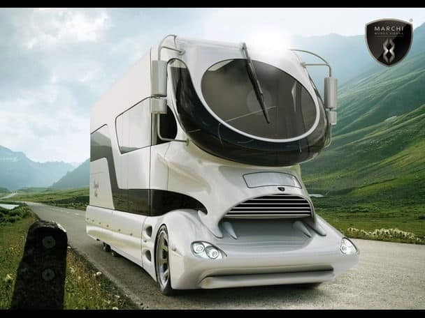 Marchi Mobile EleMMent PALAZO RV The Future Is Now Unfinished Man