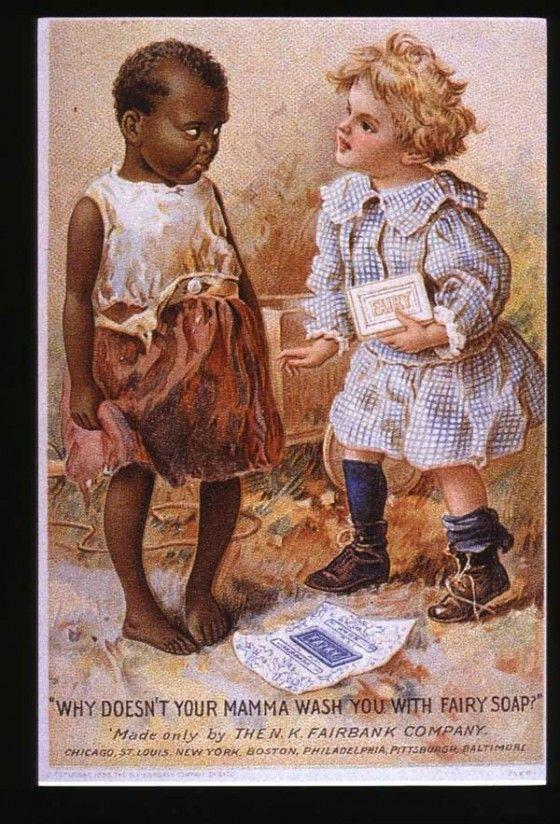 Racist Fairy Soap Print Ad
