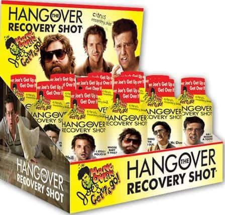 Hangover Joe's hangover cute