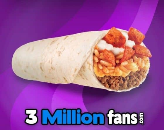 Taco Bell brings back the Beefy Crunch Burrito