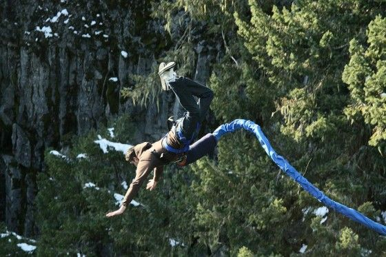 Bungee jumping is one of those things that I've day dreamed about for years ...
