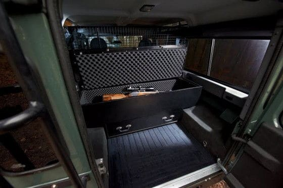 Special edition Hunting Rifles Land Rover Defender