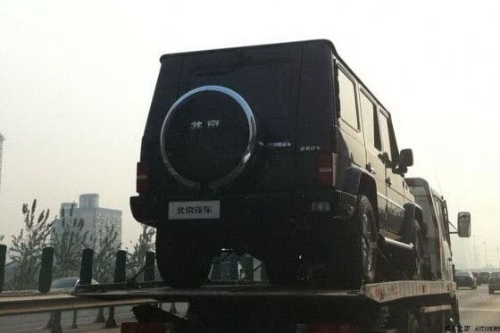 BAIC Mercedes-Benz G-Class Copy cat