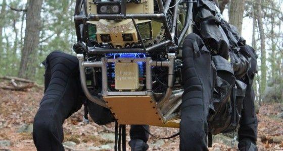 DARPA's LS3 robotic pack mule