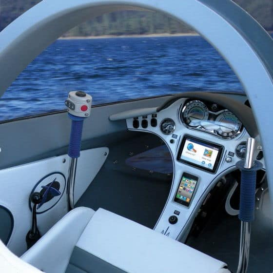 Interior of Killer Whale Submarine Watercraft