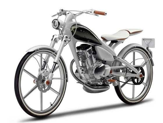Yamaha Y125 Moegi Concept Scooter