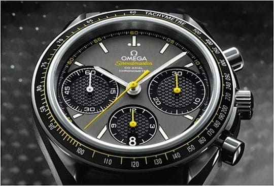 Omega Speedmaster Racing yellow