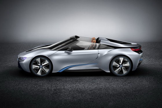 BMW i8 Spyder Concept hybrid sports car