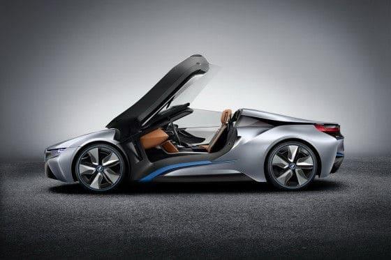 BMW i8 Spyder Concept scissor doors