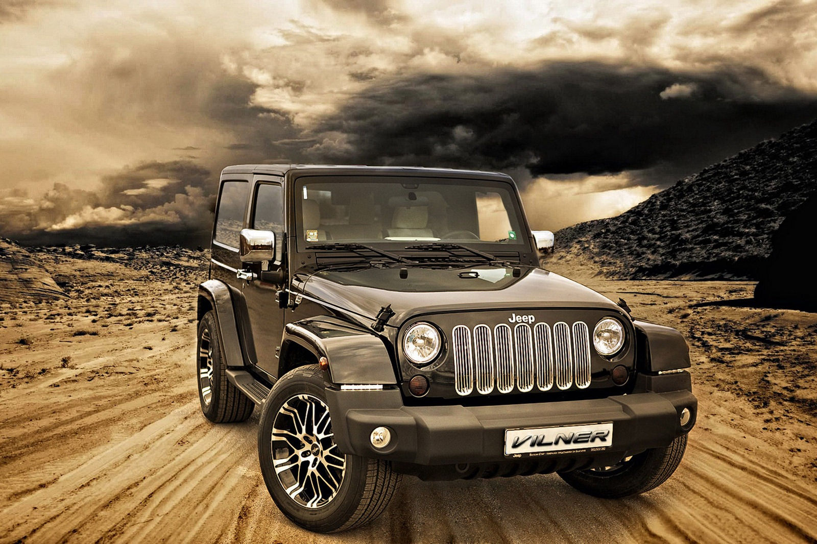their attention to the American off-road legend, the Jeep Wrangler