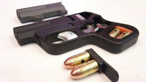 inside a pistol